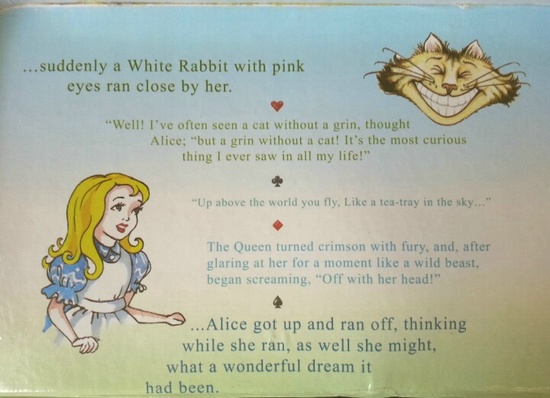 Weekly Photo Challenge: Culture/Retro Alice in Wonderland