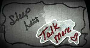 Sleep Less, Talk More Created by Peeksi.com