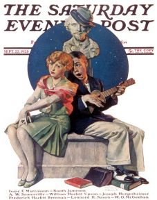 Serenade by Norman Rockwell