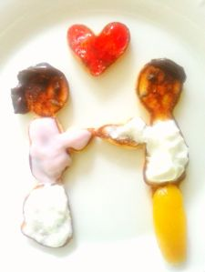 Peeksi.com wants to help you find love that lasts., just like the pancake people =D. -- The loving pancake couple was created by Peeksi.com's founder.
